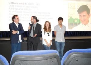 Premiazione Foligno - I vincitori della sezione Scuola Secondaria di 2° grado